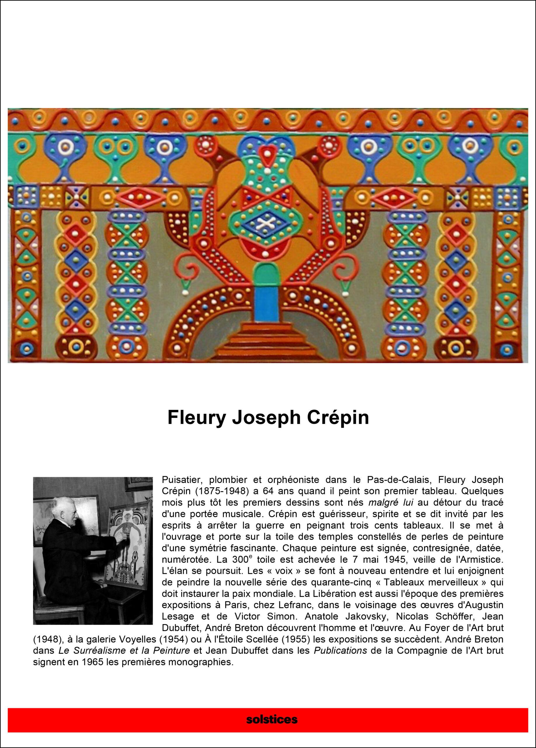 Fleury Joseph Crépin