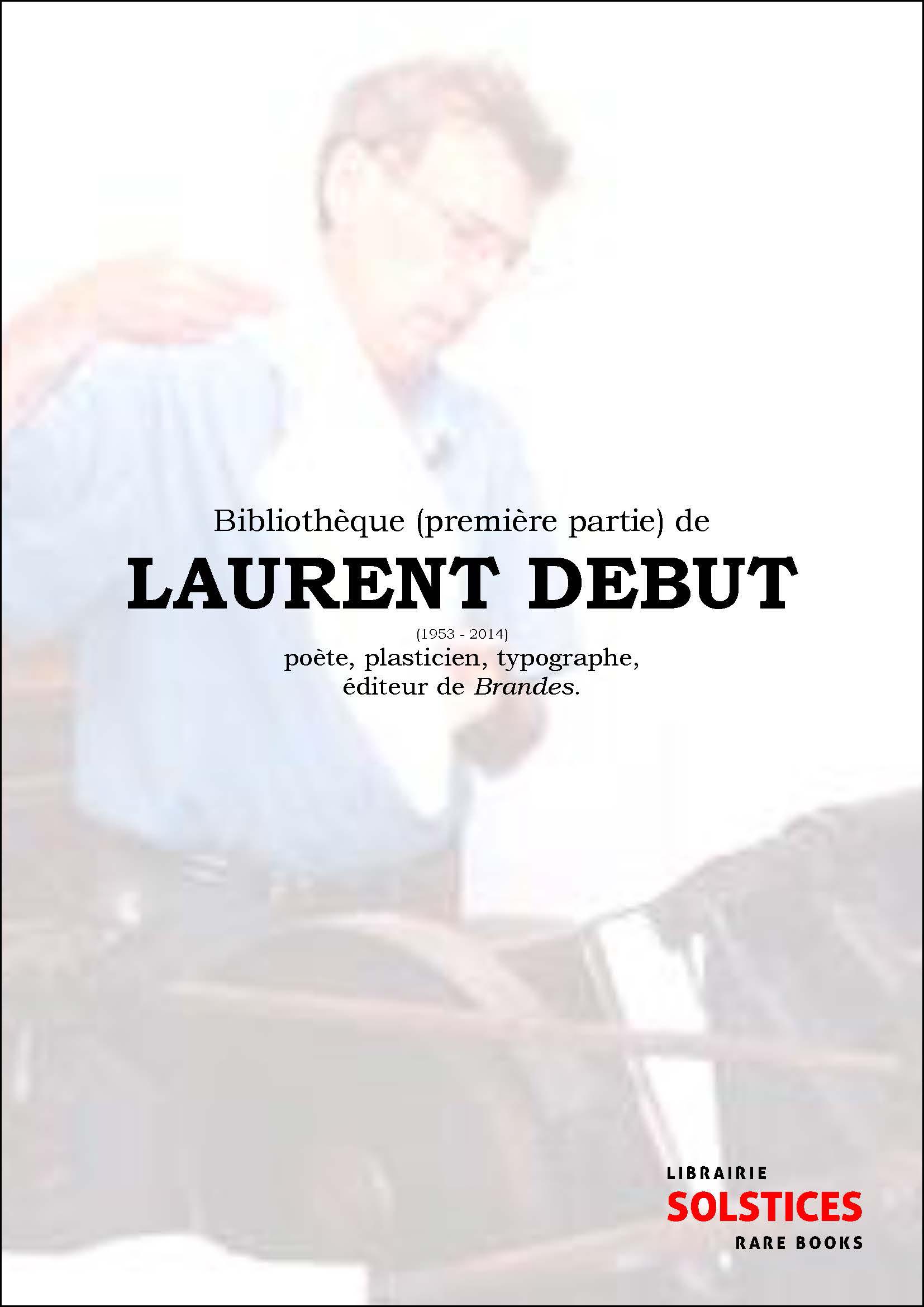 Laurent Debut et les éditions Brandes